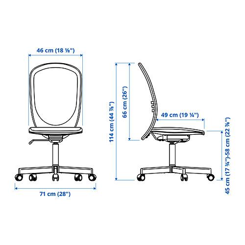 FLINTAN - office chair, beige | IKEA Hong Kong and Macau - PE835293_S4