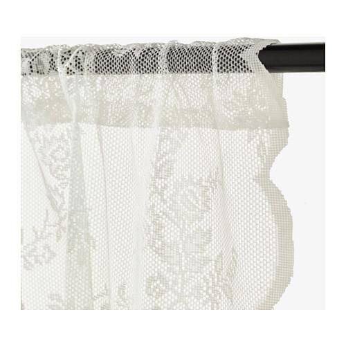 ALVINE SPETS - 窗紗,一對, 灰白色   IKEA 香港及澳門 - PE569730_S4