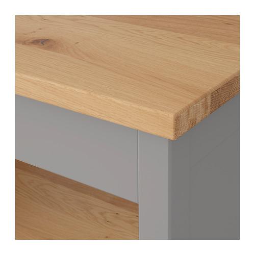 TORNVIKEN - 廚房工作檯, 灰色/橡木 | IKEA 香港及澳門 - PE684546_S4