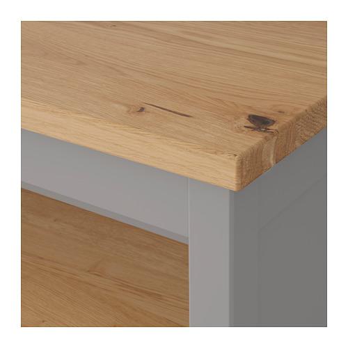TORNVIKEN - 廚房工作檯, 灰色/橡木   IKEA 香港及澳門 - PE684552_S4