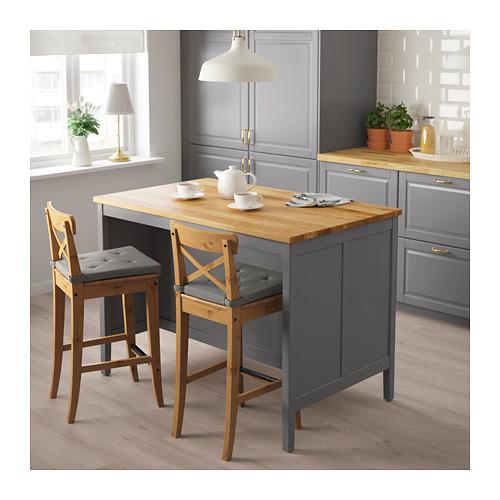 TORNVIKEN - 廚房工作檯, 灰色/橡木   IKEA 香港及澳門 - PE684553_S4
