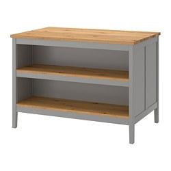 TORNVIKEN - 廚房工作檯, 灰色/橡木 | IKEA 香港及澳門 - PE684544_S3