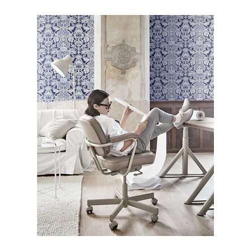 ALEFJÄLL - office chair, Grann beige | IKEA Hong Kong and Macau - PH154636_S4