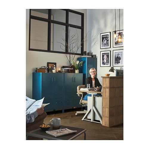 IDÅSEN - cabinet with doors and drawers, blue | IKEA Hong Kong and Macau - PH155628_S4