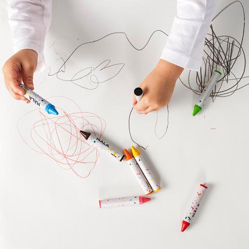 MÅLA - wax crayon, mixed colours   IKEA Hong Kong and Macau - PE771082_S4