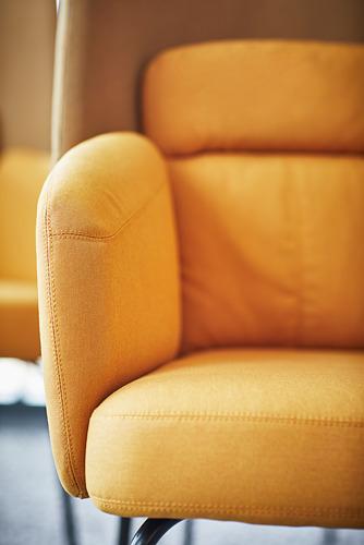 BINGSTA - high-back armchair, Vissle dark yellow/Kabusa dark yellow | IKEA Hong Kong and Macau - PE771140_S4