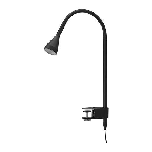 NÄVLINGE - LED壁燈/夾式射燈, 黑色 | IKEA 香港及澳門 - PE727112_S4