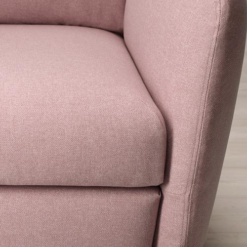 EKOLSUND - 活動躺椅, Gunnared 淺粉褐色   IKEA 香港及澳門 - PE727167_S4