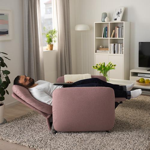 EKOLSUND - 活動躺椅, Gunnared 淺粉褐色   IKEA 香港及澳門 - PE727168_S4