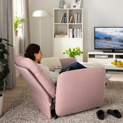 EKOLSUND - 活動躺椅, Gunnared 淺粉褐色   IKEA 香港及澳門 - PE727169_S4