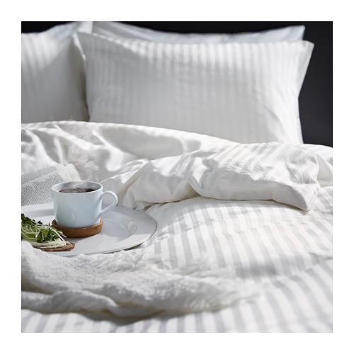 NATTJASMIN - quilt cover and 2 pillowcases, white, 240x220/50x80 cm  | IKEA Hong Kong and Macau - PE684772_S4