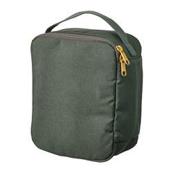 DRÖMSÄCK - 化妝袋, 橄欖綠色 | IKEA 香港及澳門 - PE771236_S3