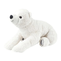 SNUTTIG - soft toy, polar bear/white | IKEA Hong Kong and Macau - PE727386_S3