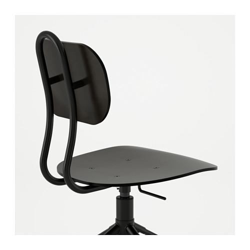 KULLABERG - 旋轉椅, 黑色 | IKEA 香港及澳門 - PE594806_S4