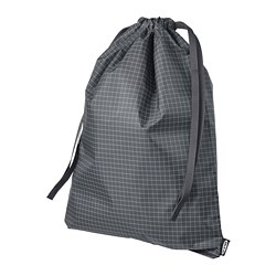 RENSARE - bag, check pattern/black | IKEA Hong Kong and Macau - PE771287_S3