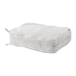 RENSARE - 衣物收納袋連間隔, 方格圖案/白色 | IKEA 香港及澳門 - PE771288_S3