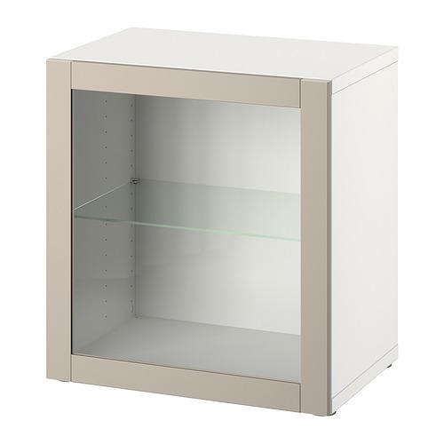 BESTÅ - 層架組合連門, white/Sindvik light grey-beige | IKEA 香港及澳門 - PE828069_S4