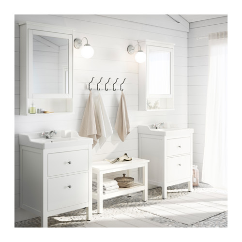 HEMNES/RÄTTVIKEN - wash-stand with 2 drawers, white/Runskär tap | IKEA Hong Kong and Macau - PE364713_S4