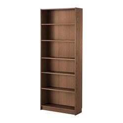 BILLY - 書架, 褐色 梣木飾面 | IKEA 香港及澳門 - PE576236_S3