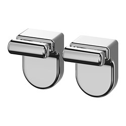 KALKGRUND - knob hanger, chrome-plated | IKEA Hong Kong and Macau - PE727605_S3