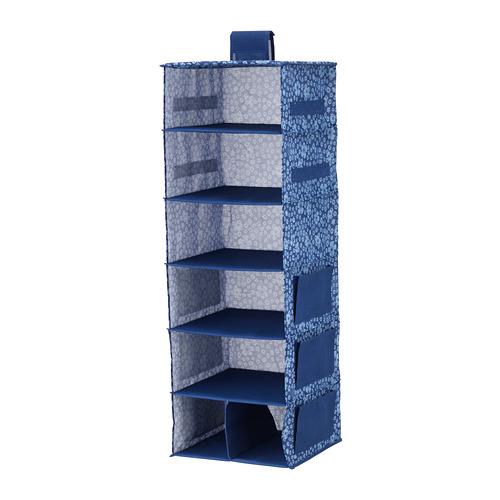 STORSTABBE 懸掛式貯物袋,7格