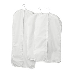 STUK - clothes cover, set of 3, white/grey | IKEA Hong Kong and Macau - PE727685_S3