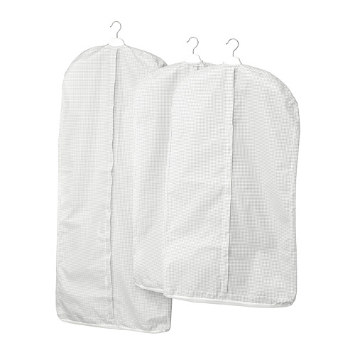 STUK - 衣物套,3件套裝, 白色/灰色 | IKEA 香港及澳門 - PE727685_S4