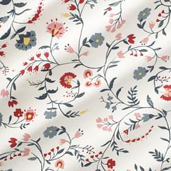 KALKBRÄKEN - 布料, 白色/繪花圖案 | IKEA 香港及澳門 - PE771362_S3
