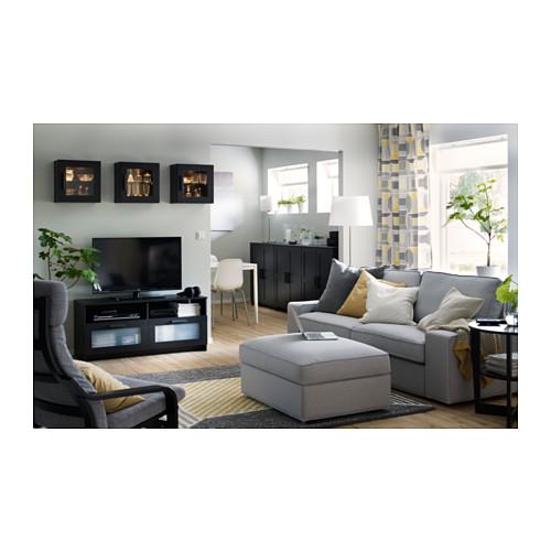 BRIMNES - 電視几, 黑色 | IKEA 香港及澳門 - PH138897_S4