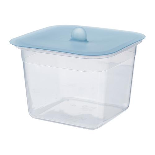 IKEA 365+ - 連蓋食物盒, 正方形 塑膠/矽膠, 1.4 升 | IKEA 香港及澳門 - PE685096_S4