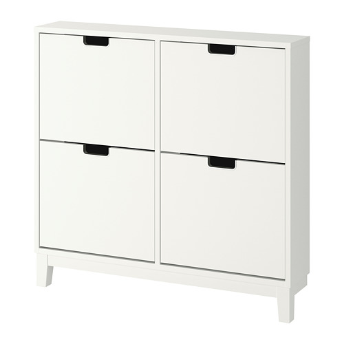 STÄLL - shoe cabinet with 4 compartments, white | IKEA Hong Kong and Macau - PE727747_S4