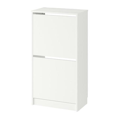 BISSA - 兩格鞋櫃, 白色 | IKEA 香港及澳門 - PE727758_S4