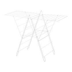 FROST - drying rack, in/outdoor, white | IKEA Hong Kong and Macau - PE727819_S3