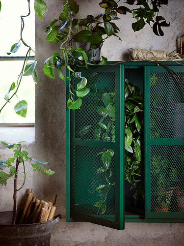 IVAR - 雙門貯物櫃, 綠色 網狀 | IKEA 香港及澳門 - PH175716_S4