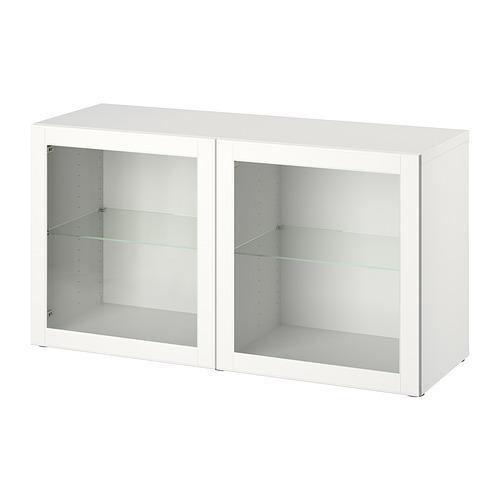 BESTÅ - shelf unit with doors, white/Ostvik white | IKEA Hong Kong and Macau - PE828300_S4