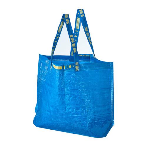 FRAKTA - 購物袋,中, 藍色   IKEA 香港及澳門 - PE728085_S4