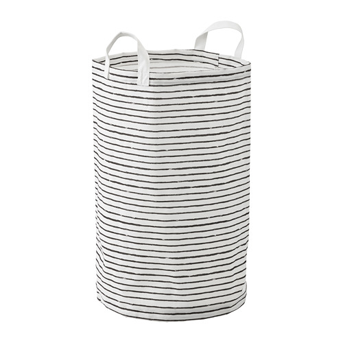 KLUNKA - 洗衣袋, 白色/黑色 | IKEA 香港及澳門 - PE728095_S4