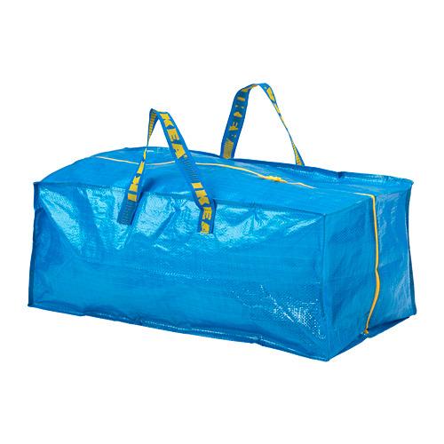 FRAKTA - 手拉車用購物袋, 藍色   IKEA 香港及澳門 - PE728099_S4