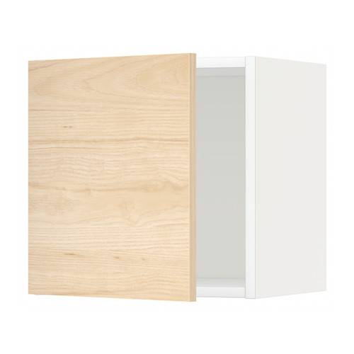 METOD - wall cabinet, white/Askersund light ash effect | IKEA Hong Kong and Macau - PE637724_S4
