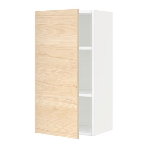 METOD - 吊櫃連層板, white/Askersund light ash effect | IKEA 香港及澳門 - PE637727_S4