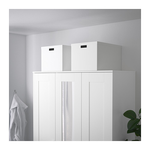 TJENA - storage box with lid, white | IKEA Hong Kong and Macau - PE685415_S4