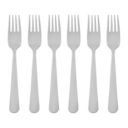 DRAGON - 沙律/甜品叉, 不銹鋼 | IKEA 香港及澳門 - PE728216_S3