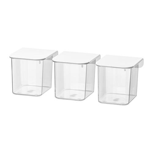 SKÅDIS - 連蓋貯物盒, 白色 | IKEA 香港及澳門 - PE728176_S4