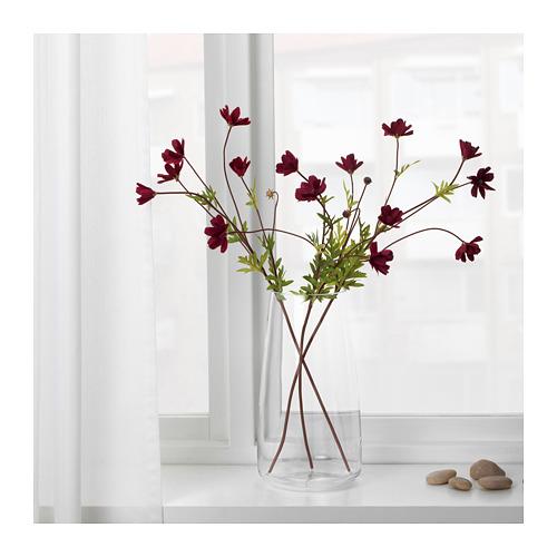 SMYCKA - artificial flower, cosmos/dark red | IKEA Hong Kong and Macau - PE685460_S4