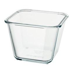 IKEA 365+ - 食物盒, 正方形/玻璃, 1.2 升 | IKEA 香港及澳門 - PE728239_S3