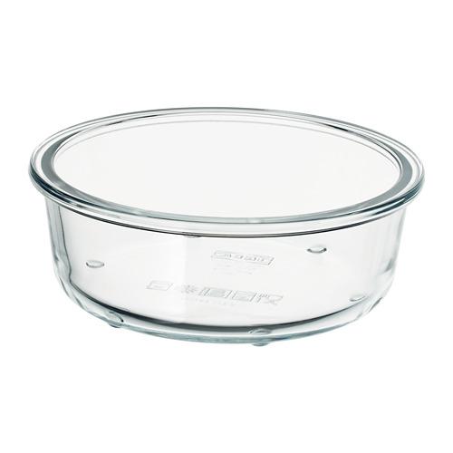 IKEA 365+ - food container, round/glass, 400ml   IKEA Hong Kong and Macau - PE728243_S4