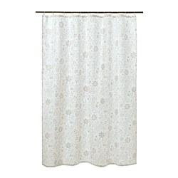 TYCKELN - shower curtain, white/dark beige | IKEA Hong Kong and Macau - PE771653_S3