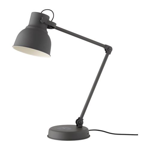 HEKTAR - 工作燈連無線充電座, 深灰色   IKEA 香港及澳門 - PE685528_S4
