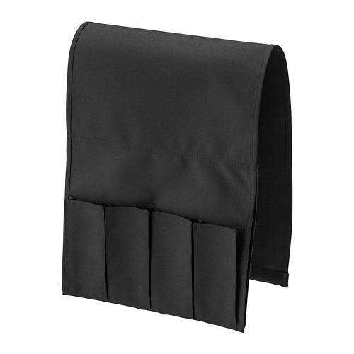 FLÖRT - remote control pocket, black   IKEA Hong Kong and Macau - PE728325_S4