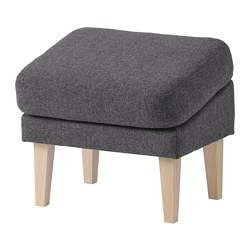 OMTÄNKSAM - 斜面腳凳, Gunnared 深灰色 | IKEA 香港及澳門 - PE771694_S3